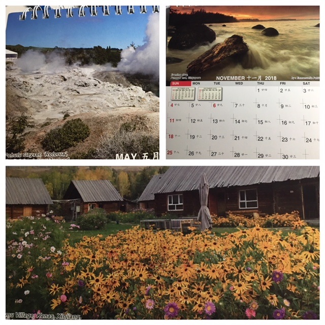 HSS Desk Calendar Charity Sale 2019