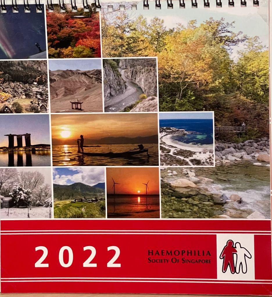 HSS Desk Calendar Charity Sale 2021