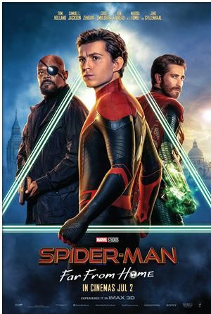 Charity Movie Screening: Spiderman – Far From Home